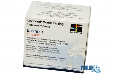 Lovibond DPD No. 1 Photometer SCUBA I + II CHLOR - 60 Tabletten (6 Streifen)